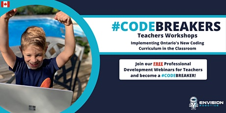 CODEBREAKERS - FREE PD Workshops for K-6 Teachers, Coding in the Classroom tickets
