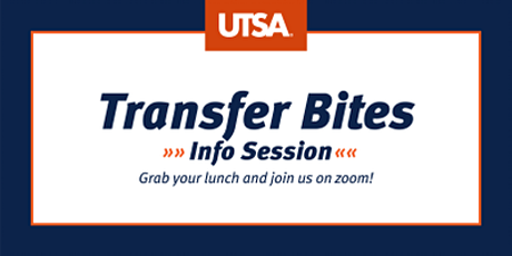 Transfer Bites Info Session (Virtual) tickets