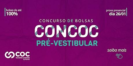 CONCURSO BOLSA DE ESTUDOS EXTENSIVO E SEMI-COCMED 2021 ingressos