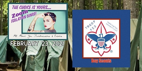 YOUR CHOICE Bingo to Benefit Boy Scouts Troop 23, Torrintgton, CT tickets