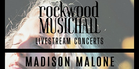 Madison Malone - Facebook Live - THANK YOU for your generous donation. tickets