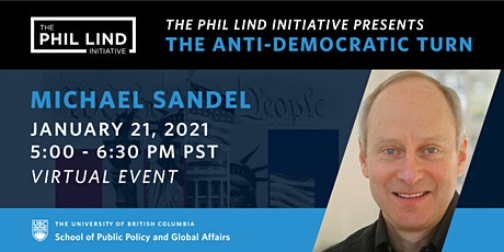 The Phil Lind Initiative Presents: Michael Sandel tickets