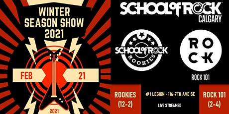 School of Rock Calgary Winter Season Show - ROOKIES tickets