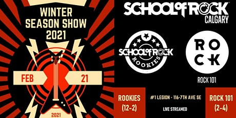 School of Rock Calgary Winter Season Show - ROCK 101 tickets