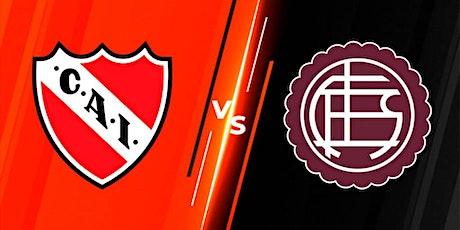 TV/VER.- Independiente v Lanús E.n Viv y E.n Directo ver Partido online entradas