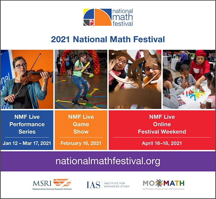 NMF Live Game Show – 2021 National Math Festival image