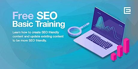 Basics of SEO for WordPress ONLINE Training tickets