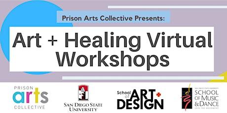 Zoom Workshop: Art + Healing tickets