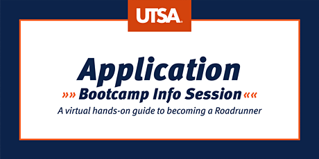 Application Bootcamp Info Session (Virtual) tickets