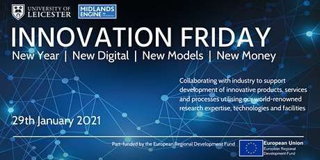 Innovation Friday Online  |  New Year, New Digital, New Models, New Money tickets