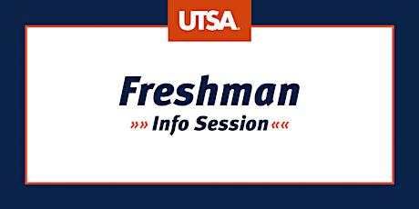 Freshman Info Session (Virtual) tickets