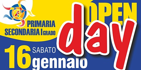 Open Day ELEMENTARI - Sabato 16 Gennaio dalle 9.30 alle 10.30 biglietti