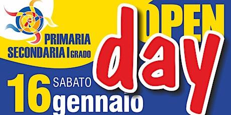 Open Day ELEMENTARI - Sabato 16 Gennaio dalle 10.30 alle 11.30 biglietti