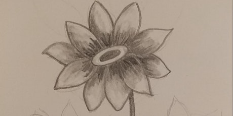 Virtual Flower Drawing/Sketching event tickets