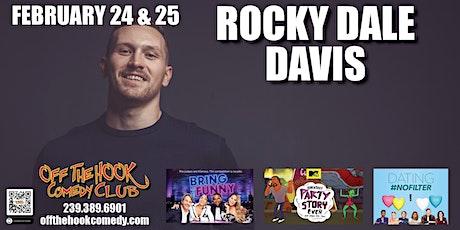 Comedian Rocky Dale Davis  live  in Naples, FL tickets