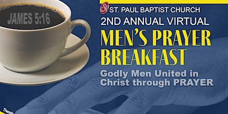 2nd Annual Men Virtual Breakfast tickets