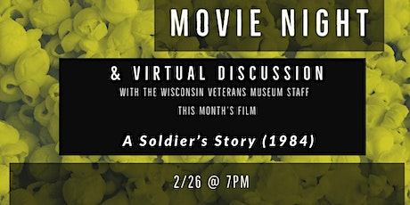 Movie Night and Virtual Discussion –A Soldier's Story (1984) tickets