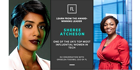 In Conversation With Sheree Atcheson, Top Most Influential Woman In Tech tickets