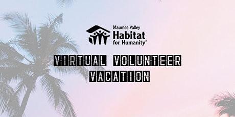 Virtual Volunteer Vacation: Appreciation Event tickets