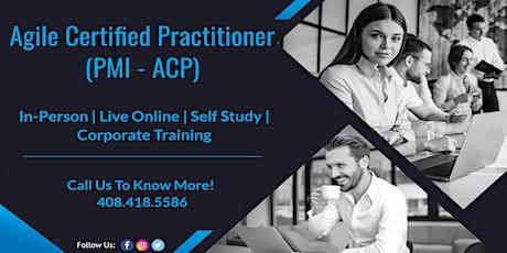 PMI – Agile Certified Practitioner(ACP) Training Program in Reno tickets