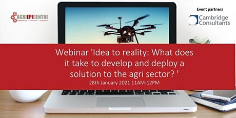 Agri-EPI Centre: Idea to reality: What does it take to develop and deploy a tickets