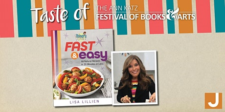"""Virtual """"Taste of Ann Katz"""" Cooking Demo with """"Hungry Girl"""" Lisa Lillien tickets"""