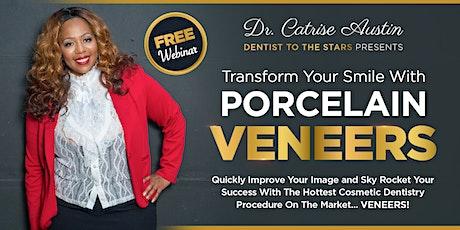 FREE Porcelain Veneers Webinar With Cardi B's Dentist: WATCH NOW! tickets