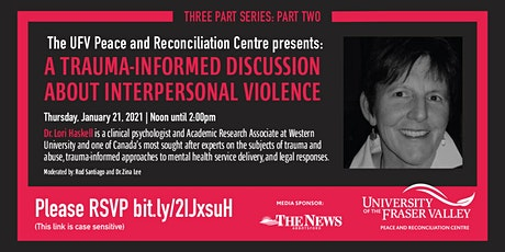 A Trauma Informed Discussion About Interpersonal Violence tickets