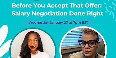 Before You Accept That Offer: Salary Negotiation Done Right tickets