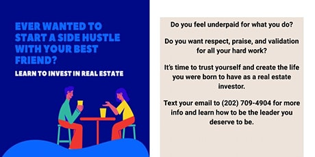 Gain Praise, Recognition, and Acceptance as a Real Estate Investor tickets