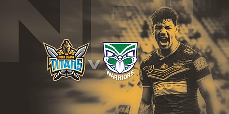 Gold Coast Titans vs New Zealand Warriors  NRL Trial Game tickets