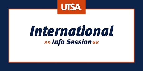 International  Info Session (Virtual) tickets