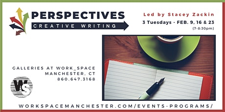 Perspectives Creative Writing Workshop - Feb. 9, 16 & 23 tickets