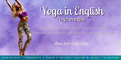 Yoga Flow in English - Clase de yoga en inglés | Annie from Enga Unite entradas