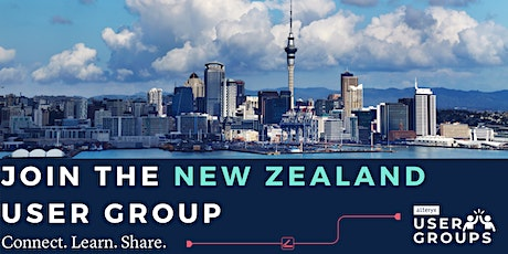 New Zealand Alteryx User Group tickets