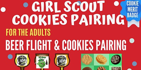 Girl Scout Cookie and Beer Pairing tickets