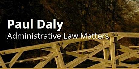 Administrative Law & Governance Colloquium 2021 tickets