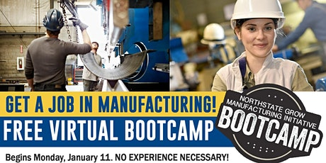Manufacturing Job-Ready Bootcamp tickets