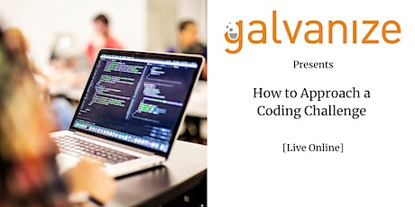 How to Approach a Python Coding Challenge [Live Online] tickets