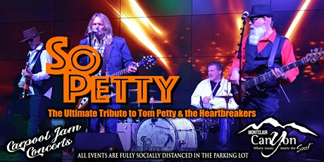Tom Petty Tribute by So Petty - Drive In Concert Montclair tickets