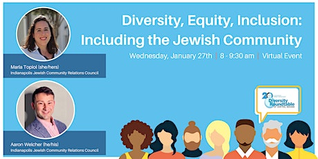 Diversity, Equity, Inclusion: Including the Jewish Community tickets