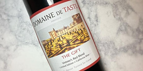 TasteTV Cult Wine Tasting - DOMAINE DE TASTE: The Gift tickets