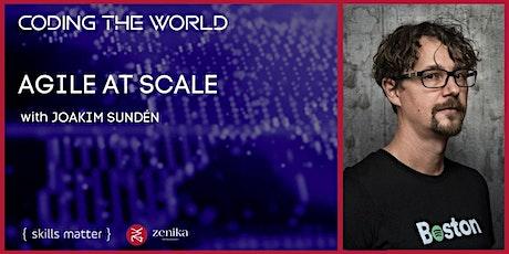 Agile at Scale with Joakim Sundén tickets
