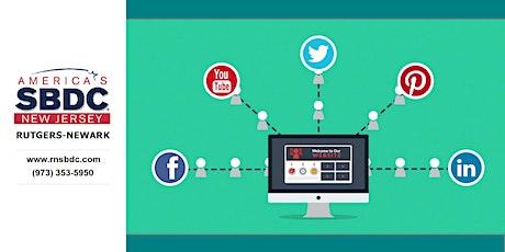 Website, Social Media & Analytics Webinar / RNSBDC biglietti