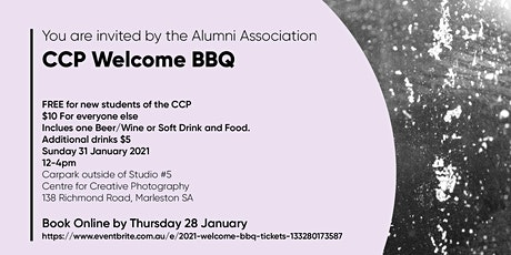 2021 Welcome BBQ tickets