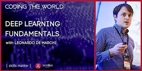 Deep Learning Fundamentals with Leonardo De Marchi billets
