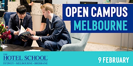 The Hotel School Melbourne Open Campus tickets