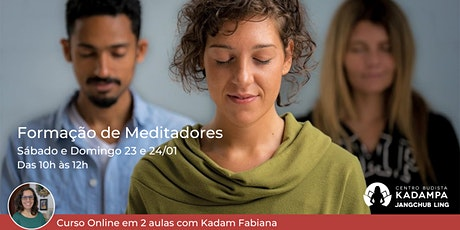 Formação de Meditadores - Curso Online ingressos