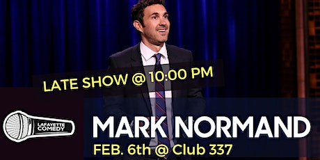 Mark Normand at Club 337 (LATE SHOW 10PM) tickets