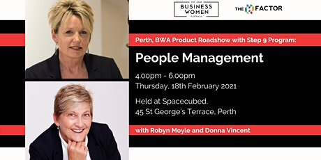 Perth, BWA Product Roadshow with Step 9 Program: People Management tickets